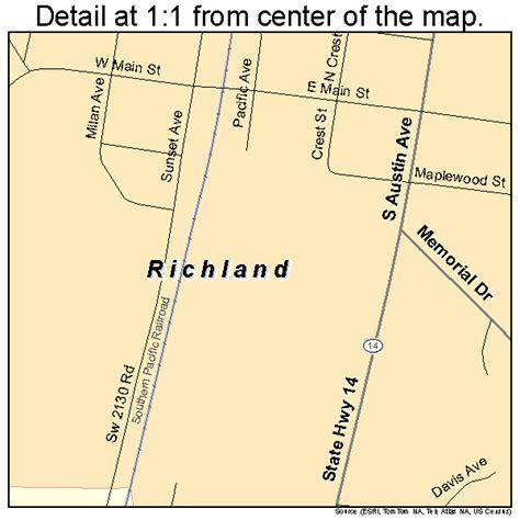 richland texas map richland texas map 4861820