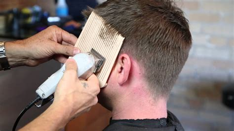 step by step instructions for trimming hair step by step guide to cutting men s hair looking sharp