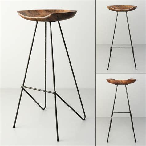 perch bar stool 3d model perch barstool