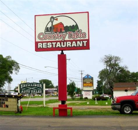 country table restaurant white pigeon restaurant