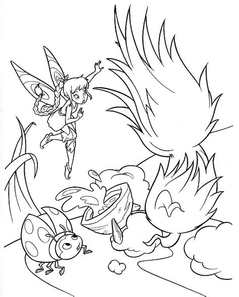 Free Printable Tinkerbell Coloring Pages For Kids Picture Of Tinkerbell To Color