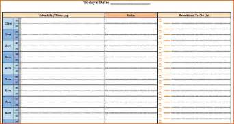 Daily Time Planner Template by Doc 746530 7 Weekly Planner Template With Times