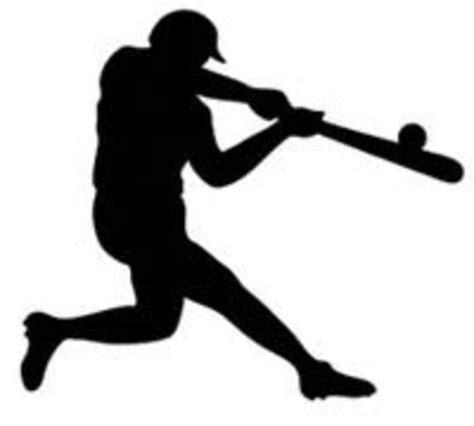 baseball clipart baseball silhouette clip