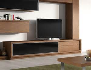 modern tv unit 2 drawer and glass door contemporary tv unit by baixmoduls
