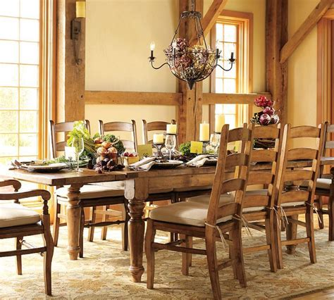 pottery barn sumner dining table for the home