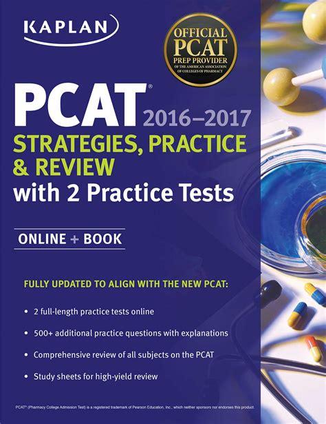 kaplan test kaplan pcat 2016 2017 strategies practice and review