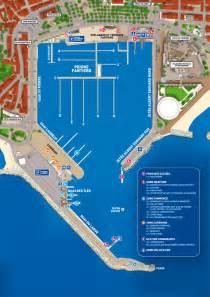 plan du port de cannes