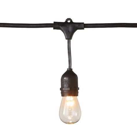 48 ft string lights hton bay 48 ft 24 socket filament led string light set