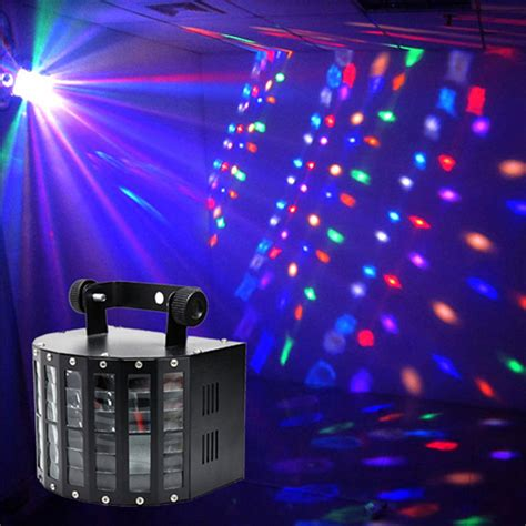 disco lights that react to music sound activated dmx control rgbw led stage light for disco