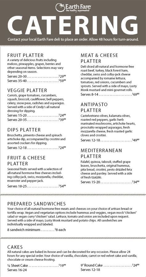 banquet menu layout 42 best images about catering on pinterest brochure