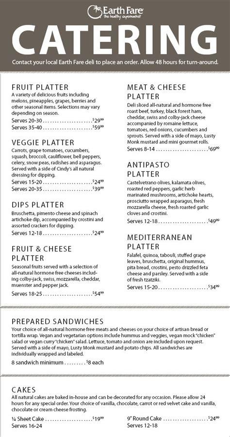 banquet menu layout 25 best ideas about catering menu on pinterest party