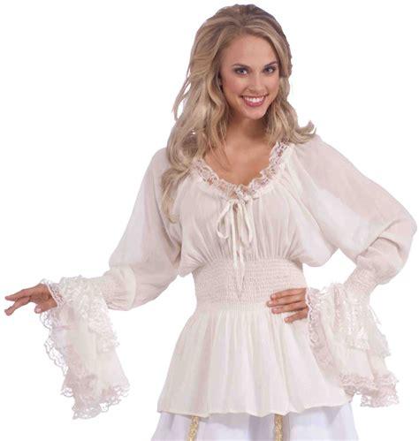 Blouse Lpa Size M 5 renaissance fair costume lace blouse peasant