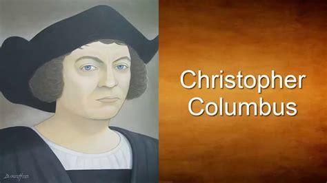 biography en ingles de christopher columbus christopher columbus and the americas english history