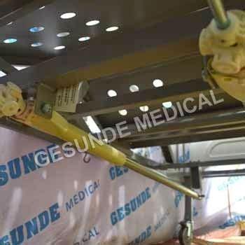 Tempat Tidur Besi Pasien ranjang rumah sakit acare 2 crank toko medis jual alat