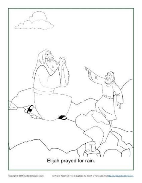 free bible coloring pages elijah elijah prayed for coloring page elijah prayed for