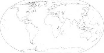 not map printable world map not labeled pictures to pin on