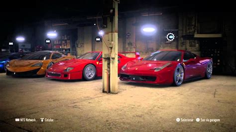 Need For Speed Garage need for speed 2015 my garage