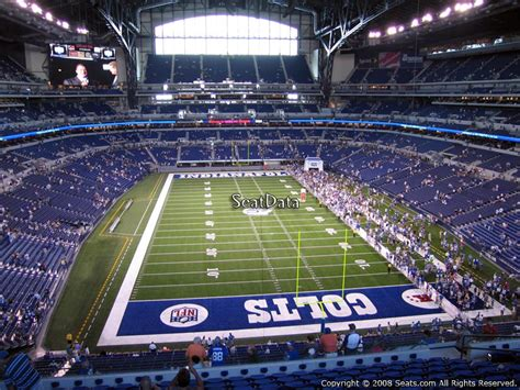 section 401a indianapolis colts lucas oil stadium section 401