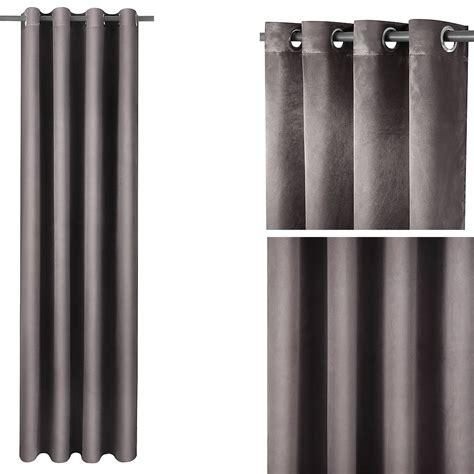 gardinen schal grau 140x245cm gardinen 214 sen grau schal vorhang dekoschal