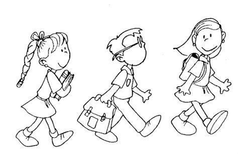 no school coloring page pinto dibujos rumbo al colegio para colorear