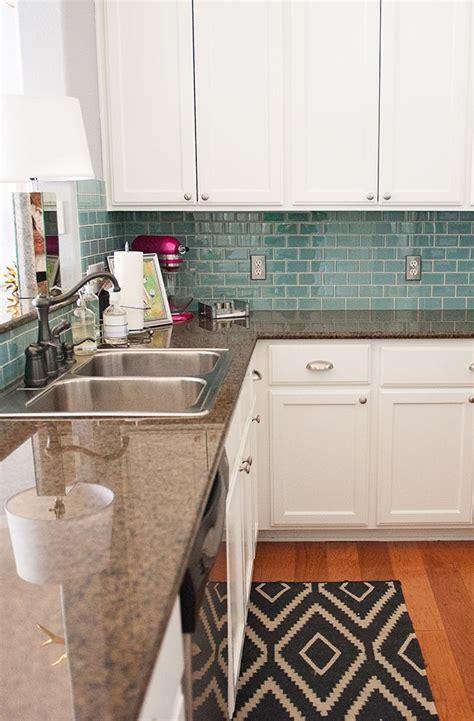 Kitchen Backsplash Tile Tx S Home Tour Theeverygirl