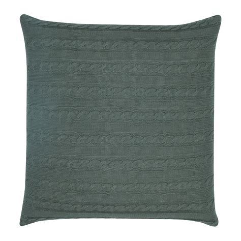 grey cable knit cushion buy grey cable knit cushion cover simply cushions