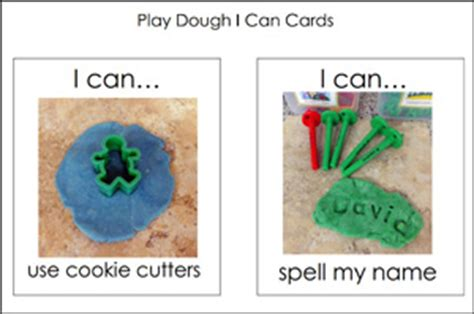 printable playdough recipe cards task cards pre k pages