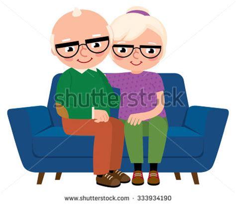 cartoon sitting on couch mature stock vectors vector clip art shutterstock