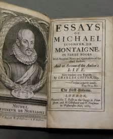 Montaigne Essays Summary by Reading Revolutions Montaigne