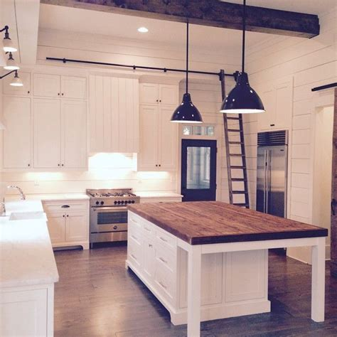 Kitchen Blocks Island Kitchen Butcher Block Island Marble Or Quartz On The Rest Of The Counters House