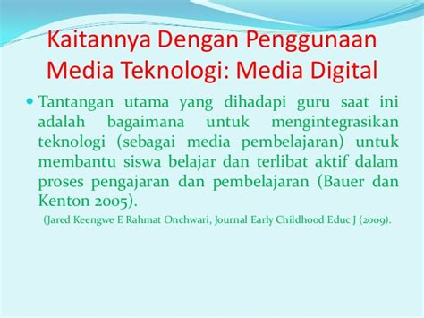 Media Dan Teknologi Dalam Pembelajaran Dr Benny ppt media pembelajarn aud