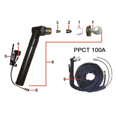powercraft bench grinder powercraft air plasma torch p80 5 ppct 100a tools from us