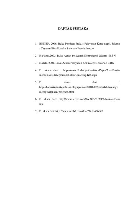 konseling dan penapisan kb