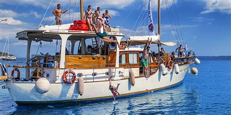 sailing jobs greece greek islands party sailing boat tour