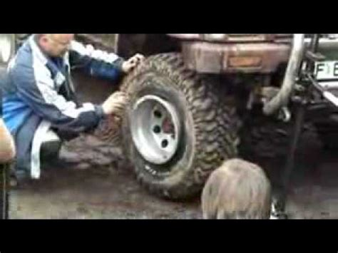4 Wheel Drive Truck Wheels Tires How To Inflate A Tire With Wd 40 Road Four Wheeling