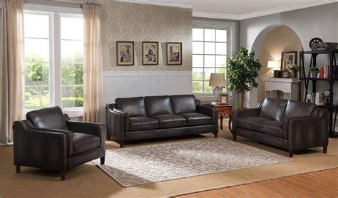 gray leather living room set ballari weathered grey leather living room set from amax