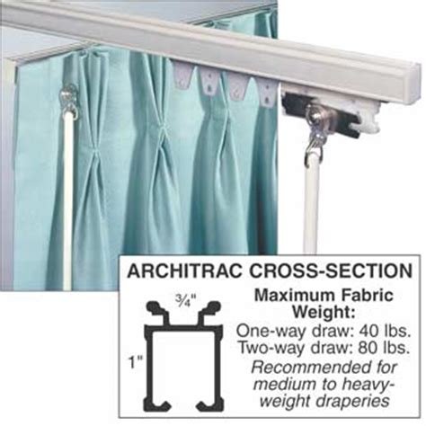 ceiling mount drapery track architrac baton draw ceiling mount drapery track national