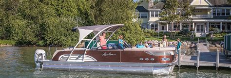 best pontoon boats 2019 the best luxury high performance and affordable pontoon