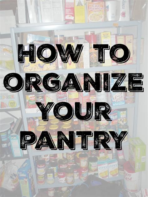 how to organize your pantry how to organize your pantry the spring mount 6 pack