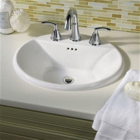 Eljer Bathroom Sink Faucets Eljer Diplomat Oval Countertop Sink Product Detail