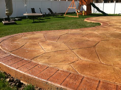 flagstone st concrete patio mentor ohio 44060