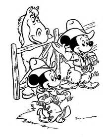 mickey mouse friends coloring pages