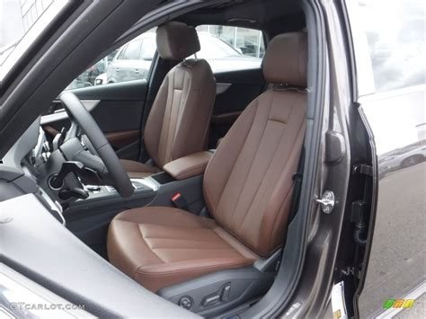 audi a4 brown interior 2017 argus brown metallic audi a4 2 0t premium plus