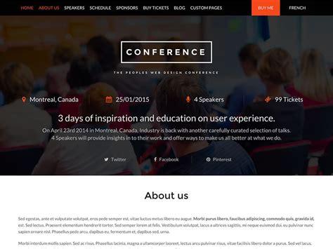 30 best events wordpress themes 2018 athemes