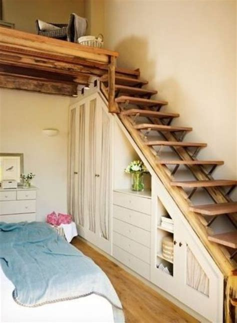 creative  space efficient attic ladders shelterness