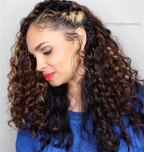 curly hairstyles pinned to the side 20 hairstyles and haircuts for curly hair curliness is