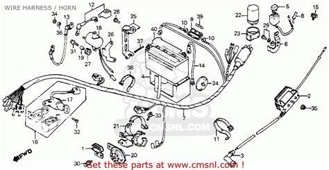 Honda Passport Parts Honda Ct70 Trail 70 1982 Usa Parts List Partsmanual