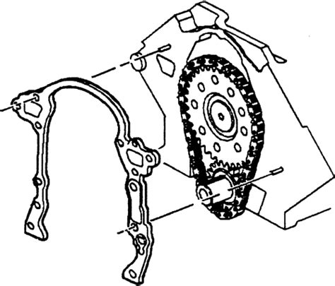 1998 buick park avenue timing chain replacement diagram 1992 buick park avenue timing cover gasket replacement engine parts for 1998 buick park