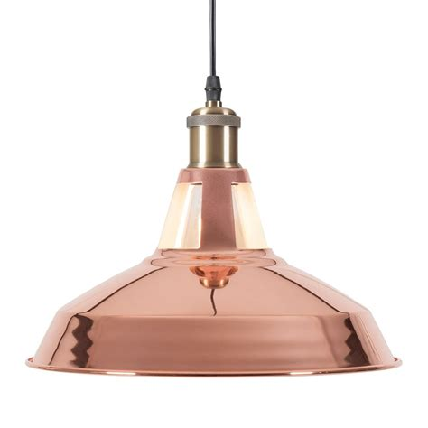 Copper Pendant Light Uk Cult Living Bushwick Copper Industrial Pendant L Cult Furniture