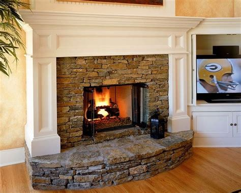 fireplace with hearth corner fireplace with raised hearth home design ideas